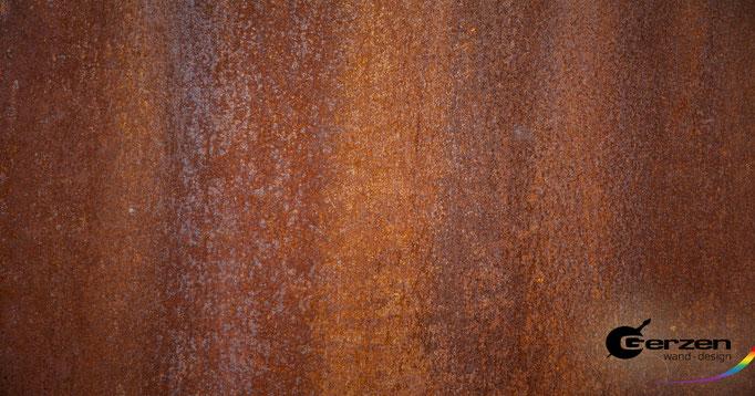 Rosttechnik mit 90% - Anteil an Metal von GERZEN wand-design