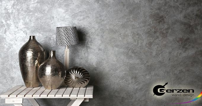 Silbereffekt, Silberoptik von GERZEN wand-design
