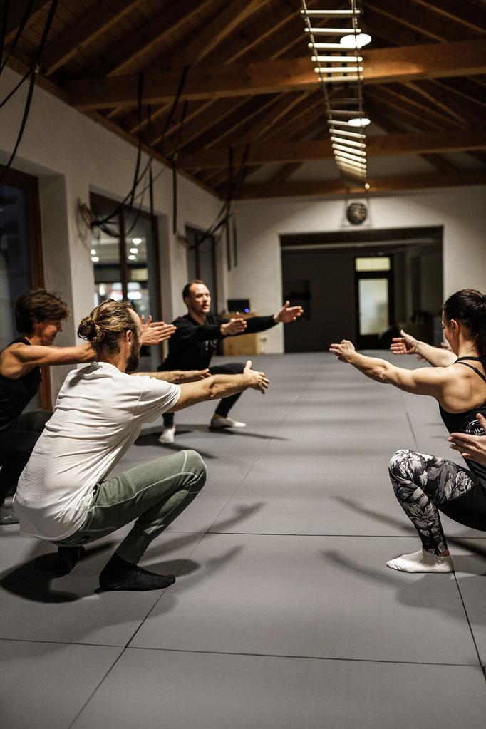 Fitnesskurse in kleinen Gruppen
