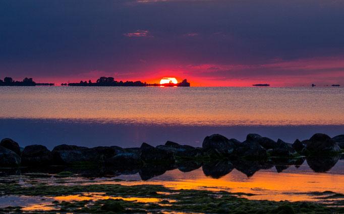 Loissin - Sonnenuntergang