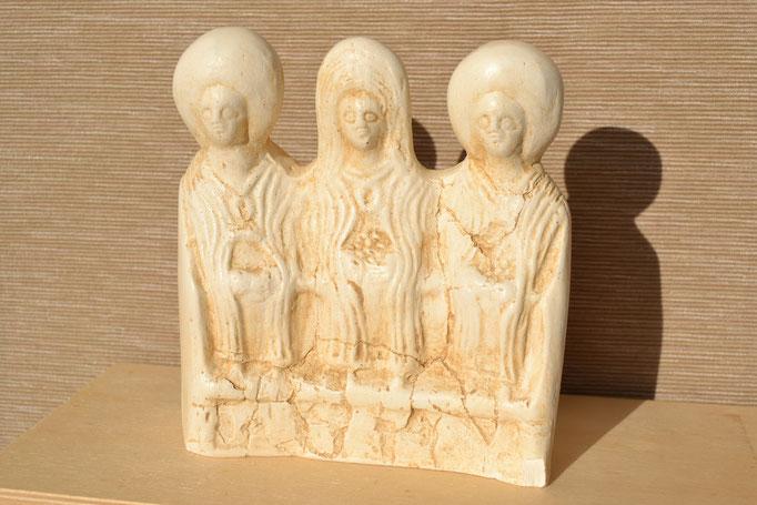 Welcher römische Töpfer hat es gemacht? Es steht auf der Rückseite...