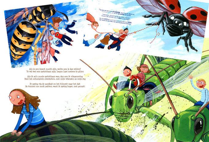 De insecten - concept voor een prentenboek