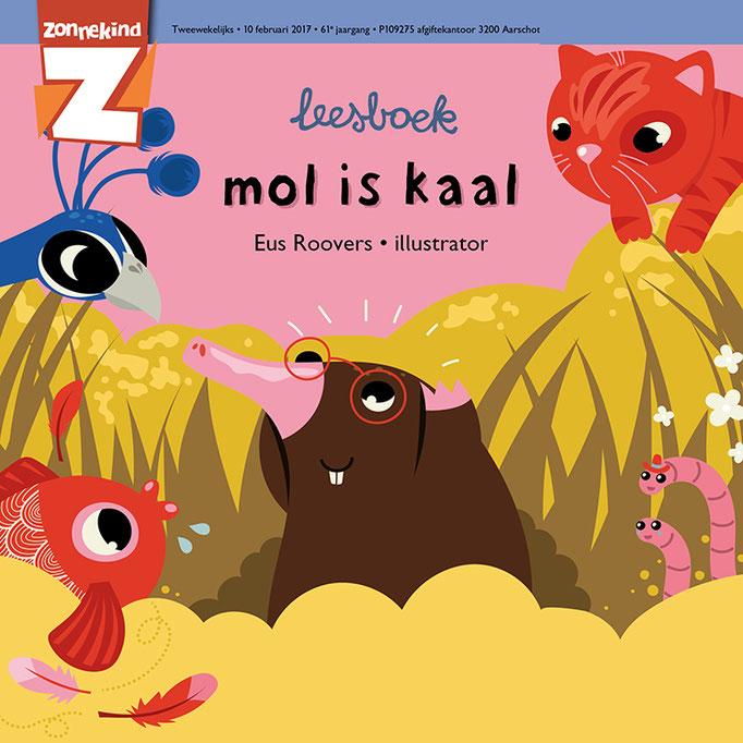 Childrens reading book for Averbode Publishers (https://www.uitgeverijaverbode.be/ko_tijdschriftenleesreeksen)