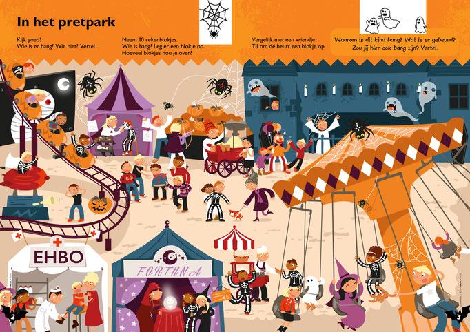 Game for Childrens magazine from publisher Averbode, https://www.uitgeverijaverbode.be/ko_tijdschriftenleesreeksen