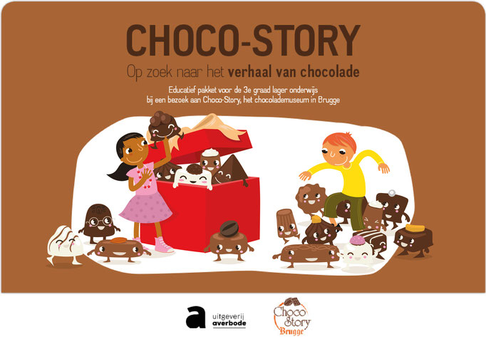 Educational magazine about chocolate, for the chocolate museum in Brugge in Belgium (https://choco-story-brugge.be/nl/)