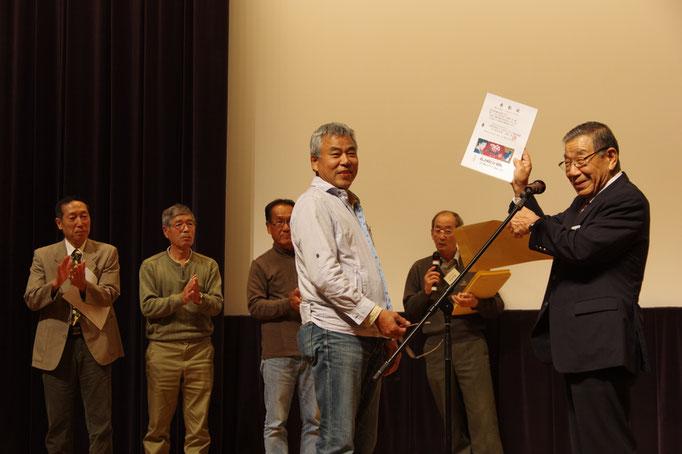 山口県支部長による表彰