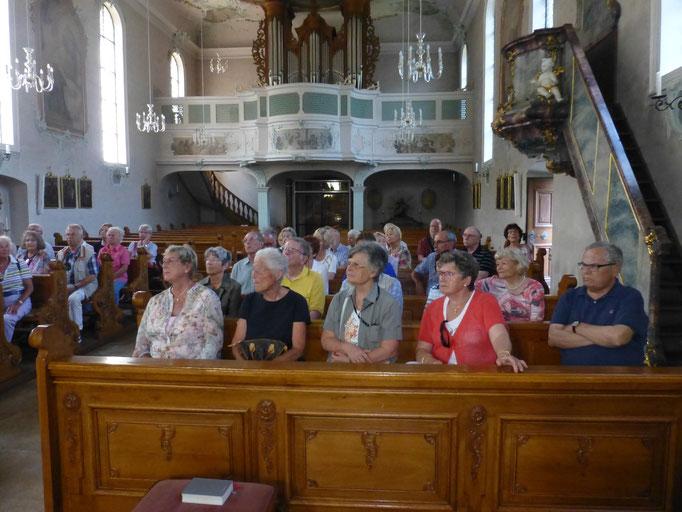In der Barock- und Wallfahrtskirche St. Ulrich bei Bollschweil
