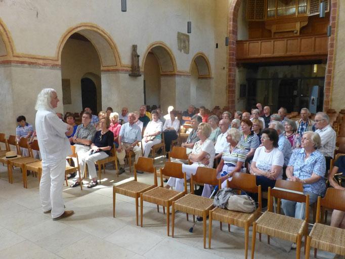 In der Pfarrkirche St. Cyriak in Sulzburg