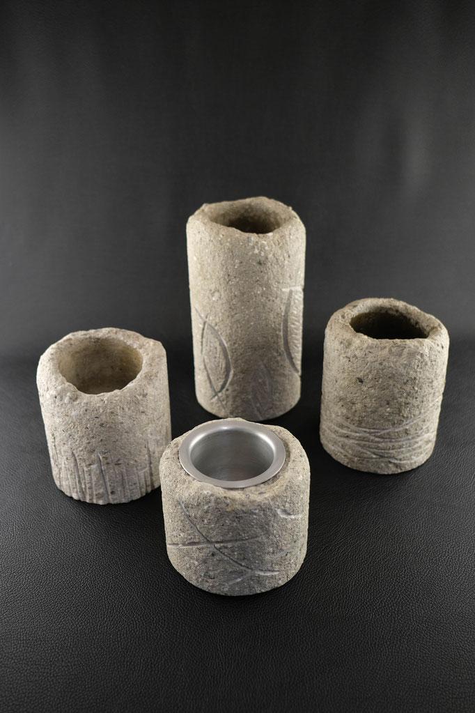 Vase, Beton, Skulptur, Upcycling, Wolfgang Wallner, Hall in Tirol