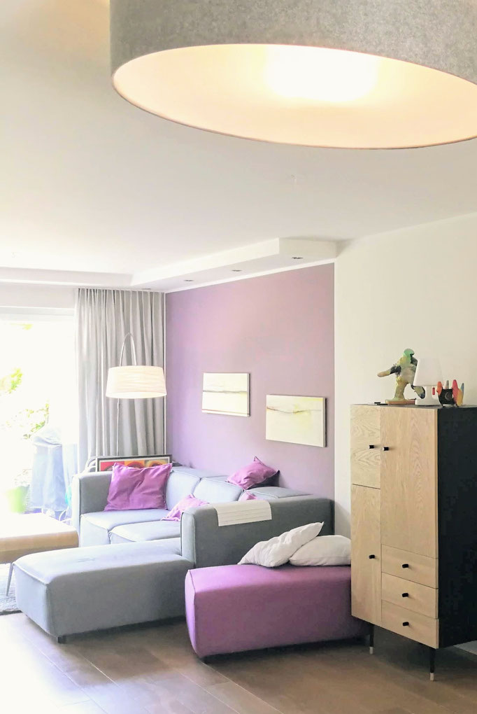 Wohnraumplanung Farbkonzept, Rolf Kullmann Innenarchitekt, Atelier Feynsinn, Köln