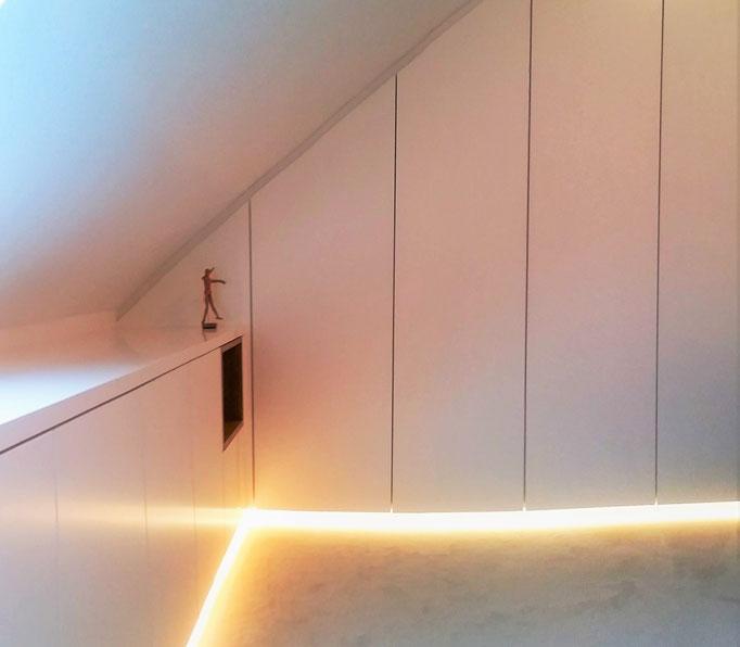Büroraum. Innenarchitekt Rolf Kullmann, Atelier Feynsinn Köln