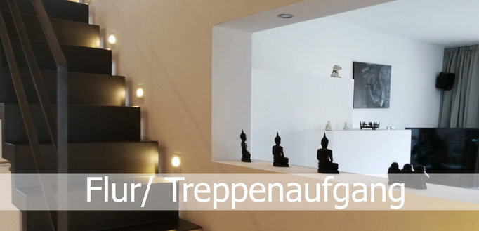Gestaltung Flur und Treppenaufgang, Rolf Kullmann Innenarchitekt, Atelier Feynsinn Köln
