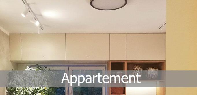Appartementplanung, Rolf Kullmann Innenarchitekt, Atelier Feynsinn Köln