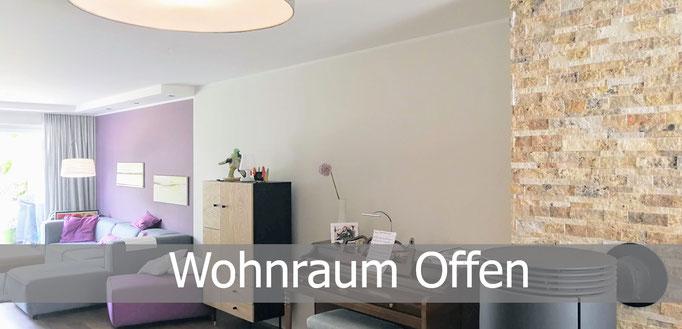 Offener Wohnraum, Rolf Kullmann Innenarchitekt, Atelier Feynsinn Köln