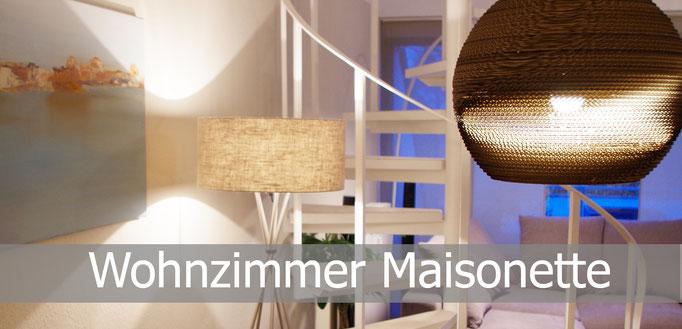 Wohnzimmer Maisonette, Rolf Kullmann Innenarchitekt, Atelier Feynsinn Köln
