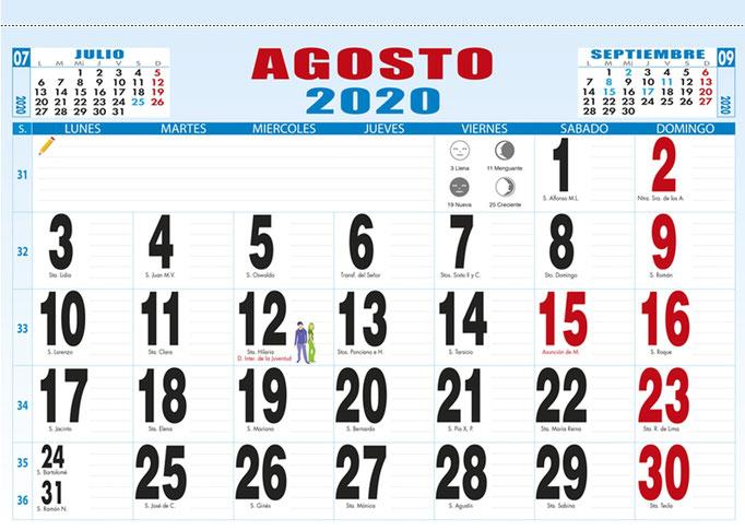 Faldilla Mensual en CASTELLANO