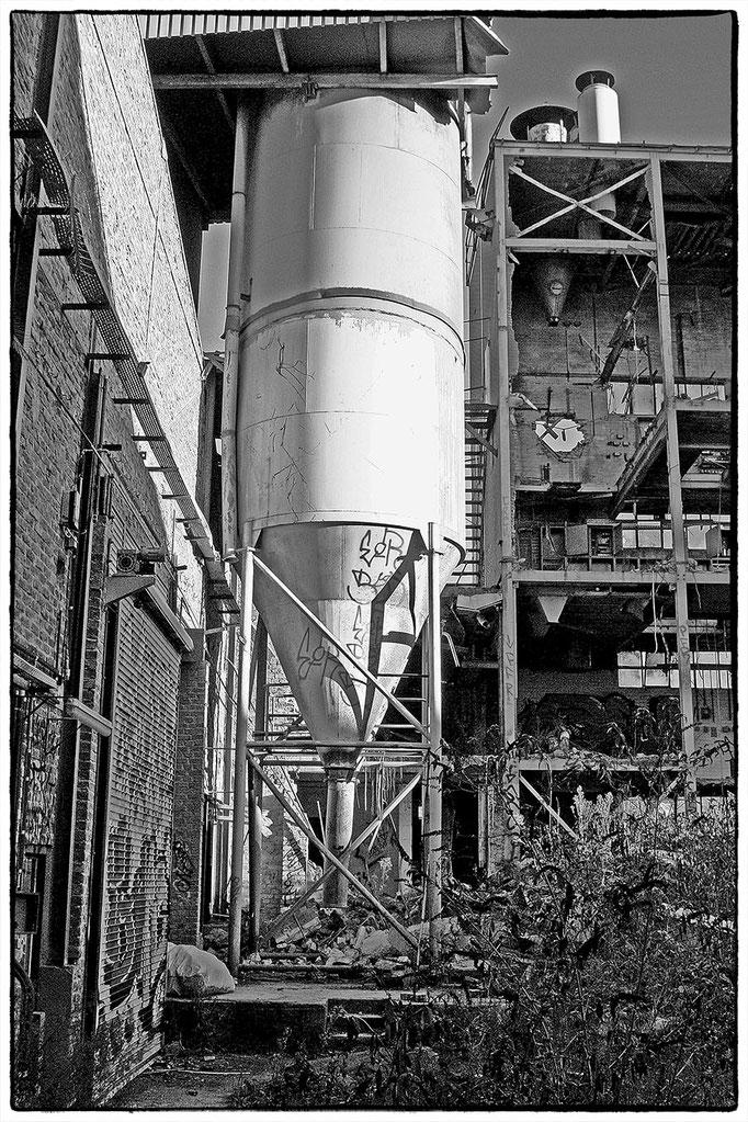 Fabrik in Urbane Orte