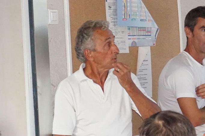 Jean Pierre Chabalier présente le bilan financier