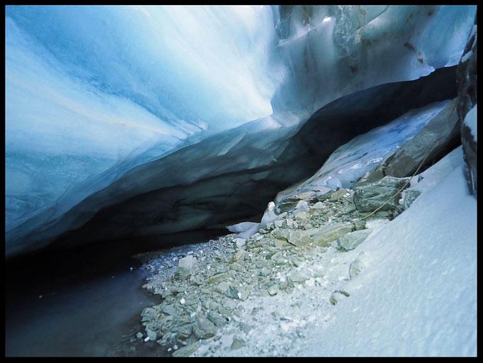 Grotta Glaciale Vadrecc di Sorda: fondo del P14