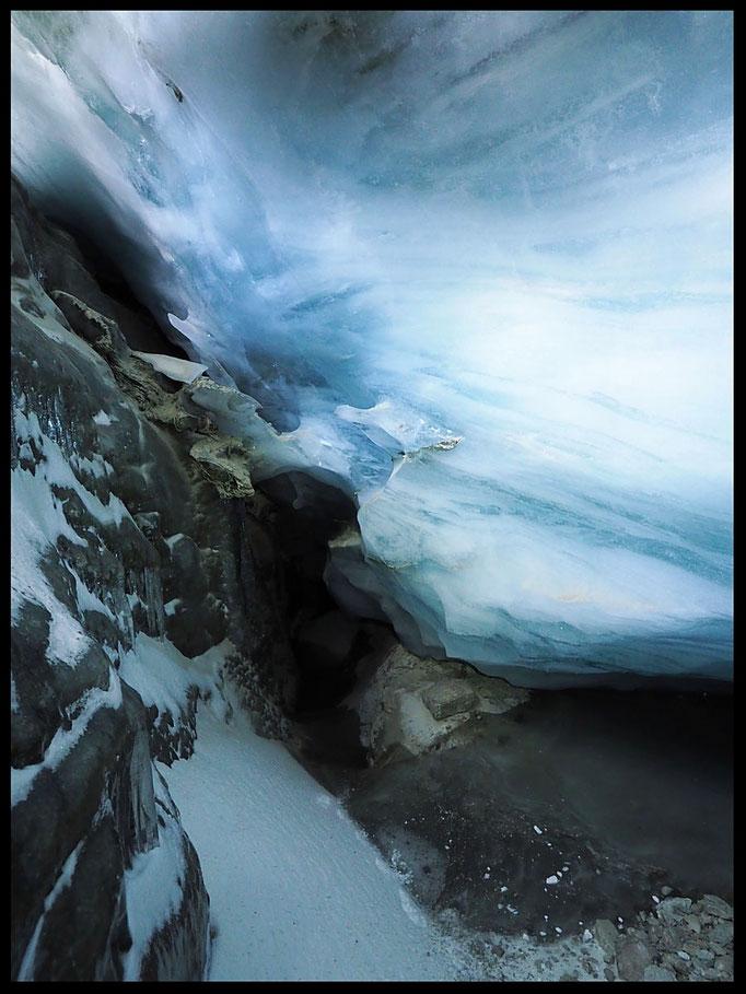 Grotta Glaciale Vadrecc di Sorda: galleria