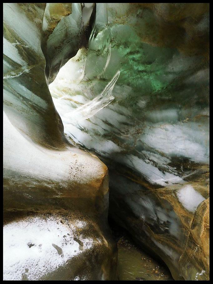 Ghiacciaio del Cavagnöö (Cavagnoli): meandro