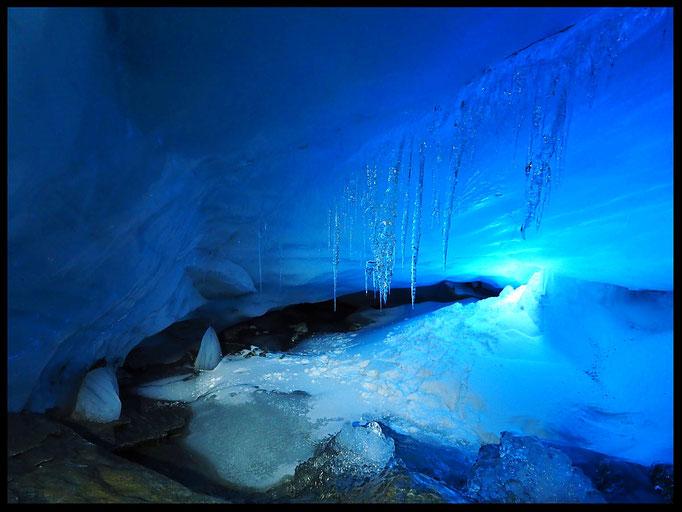 Grotta Glaciale Vadrecc di Sorda: parte inferiore