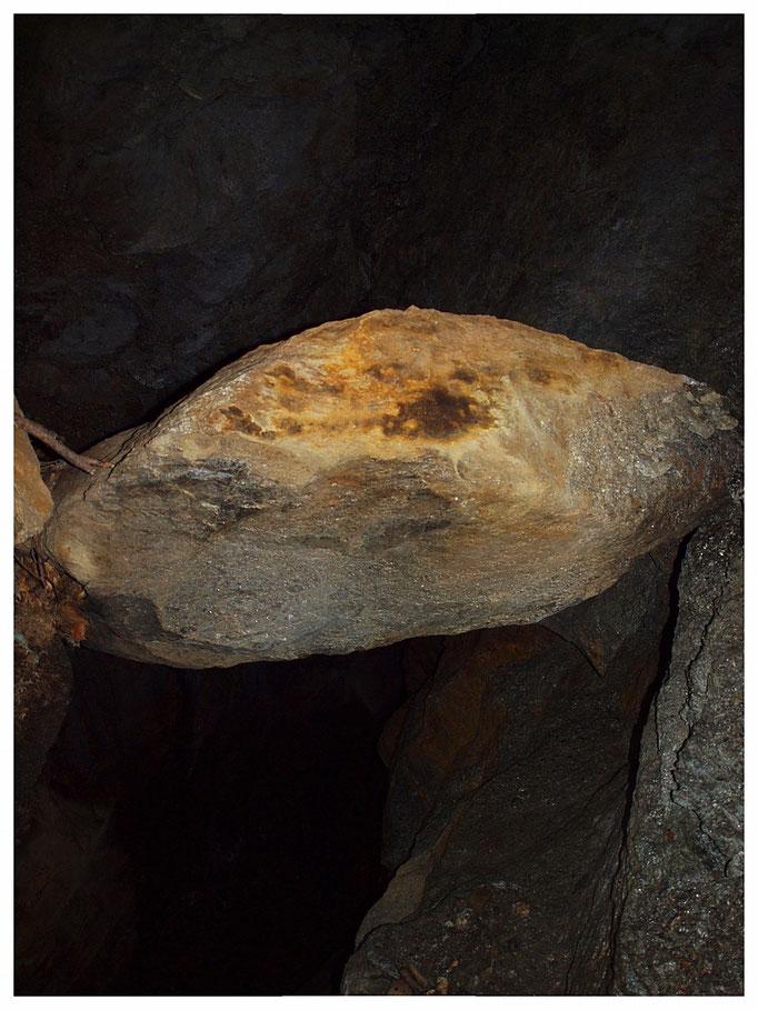 Mürisc I: frattura con masso in bilico