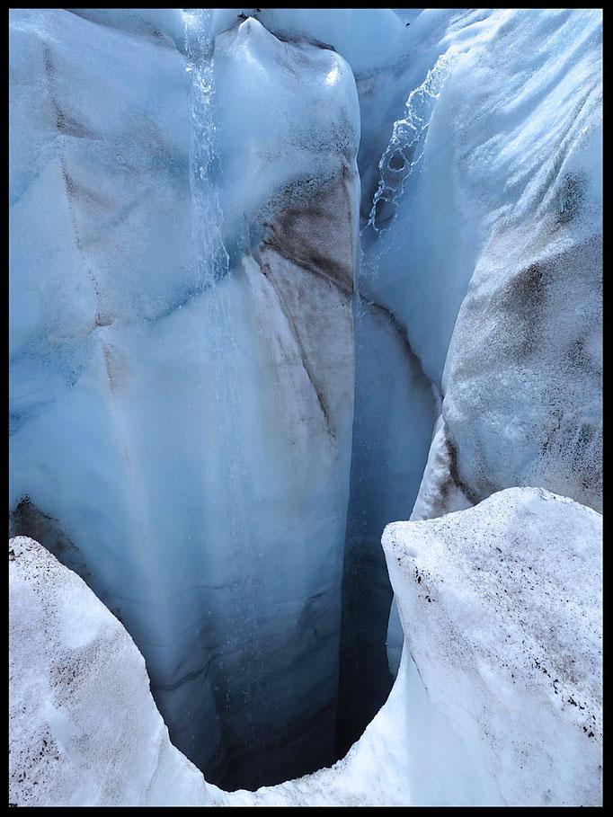 Ghiacciaio del Basòdino: mulino glaciale