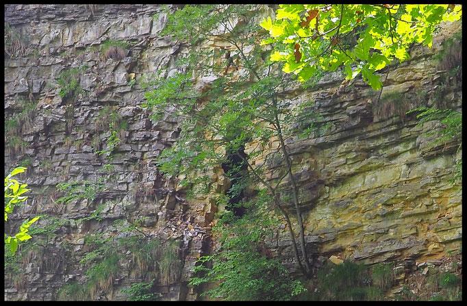 Val Serrata: apertura in parete