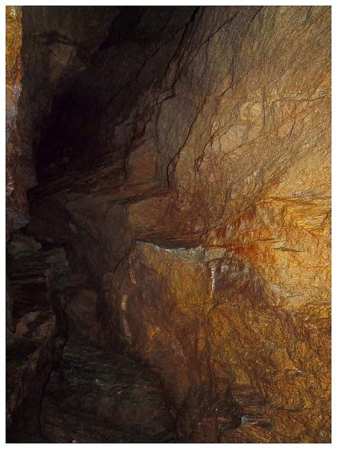 Grotta dell'Alpe Sponda: parte non inquinata