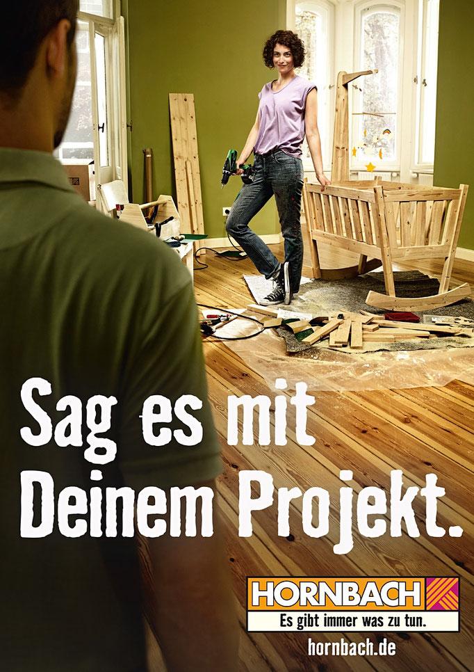 Hornbach, Ausstattung und Bau der Wiege, Heimat Berlin, Foto: Maak Roberts