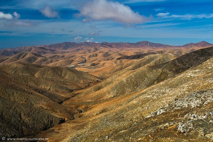Für mich der beste Aussichtspunkt von Fuerte: Mirador an der Passhöhe Degollada del Viento