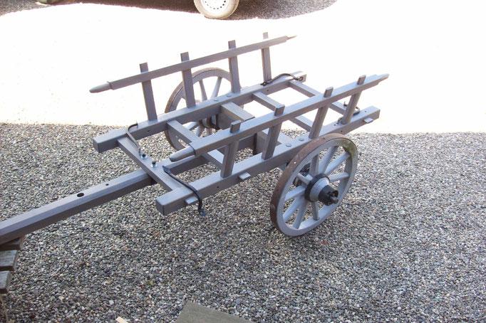 Antiker Handwagen | Restaurierung/Neuaufbau