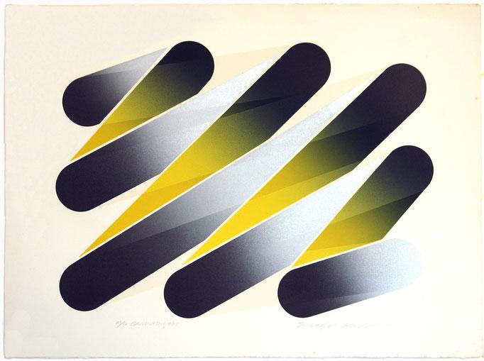 GRADUATION73-5 1973 Lithograph 56x76cm ED.30