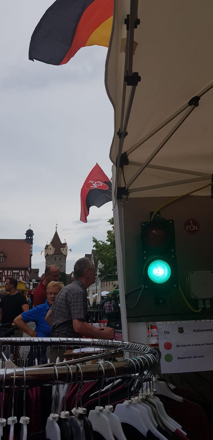 fcn-fanclub-frankenpower herzogenaurach altstadtfest 2019