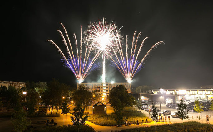 Höhenfeuerwerk Stadtfest