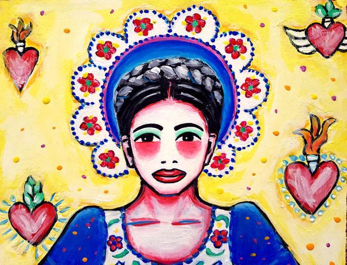 Frida, Part, Vorlage: Lena Hoscheck, A4, 500Fr.