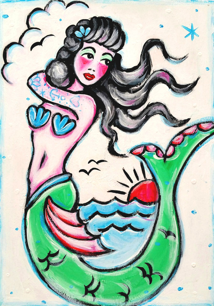 Mermaid, A4, 200Fr.