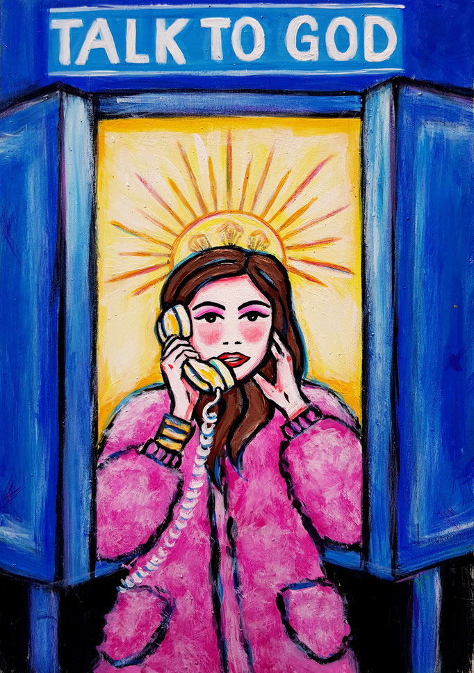 Talk to Good, Vorlage: E. Garcia-Rivera, A4, 600Fr.