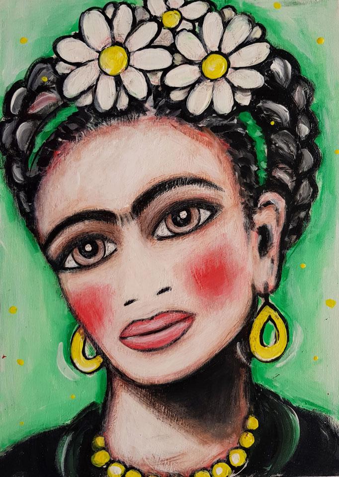 Frida-Portrait, A4, 500Fr.