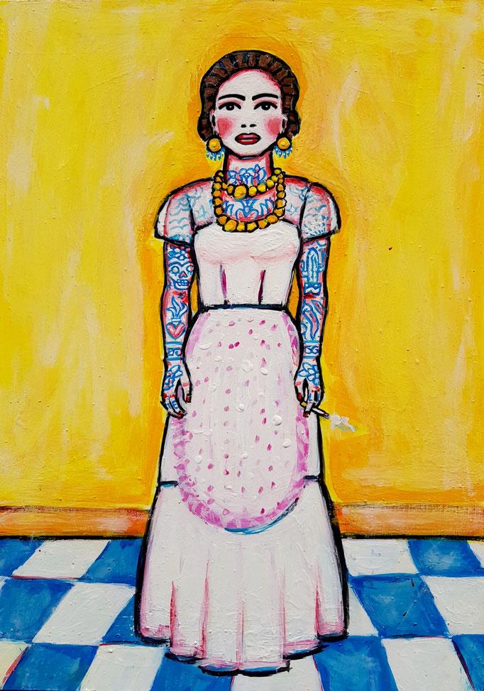 Frida mit Zigi, A4