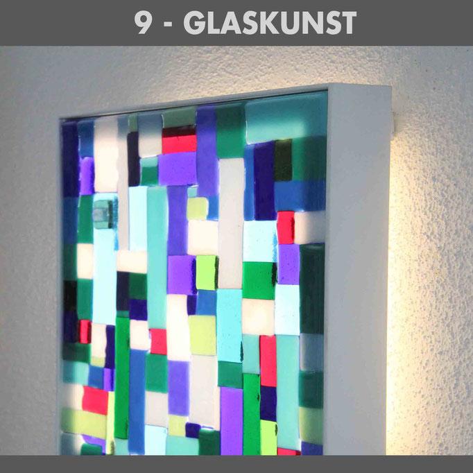 Glaskunst, Lichtdesign, Lichtkunst, Lichtwandbilder, Lichtbilder, Objektleuchten