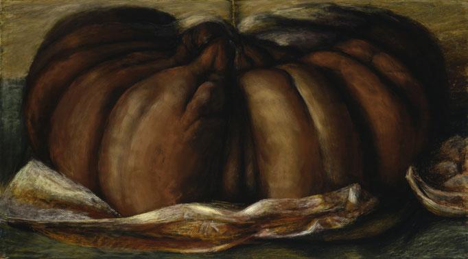 1997. 95 x 171 cm. Pastel sur toile marouflé sur toile.