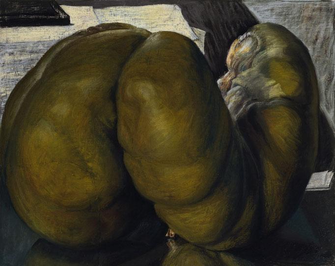 1996. 65 x 81 cm. Pastel sur toile marouflé sur toile.