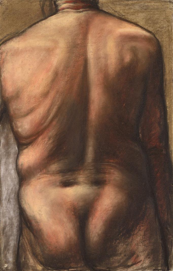 2013. 100 x 65 cm. Pastel sur papier marouflé sur toile.