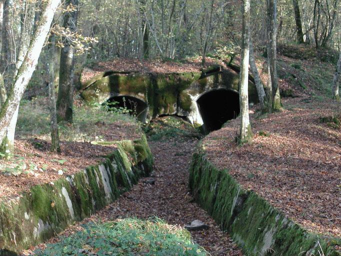 Tunnels de munitions du Canon de Duzey