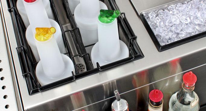 Cocktail Zubereitung mit Hygiene