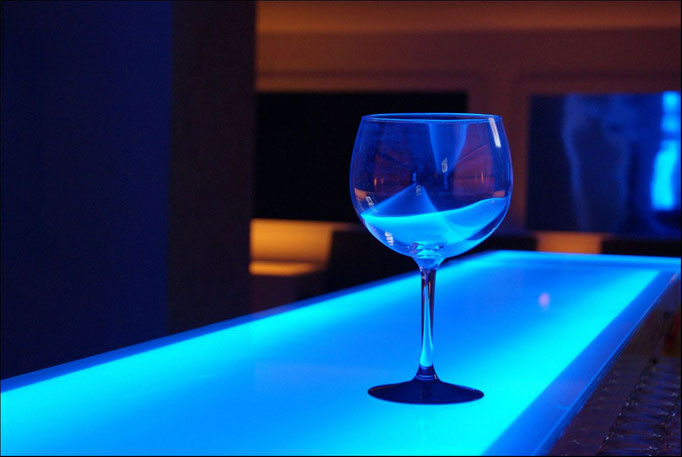 Blue Motion Bar