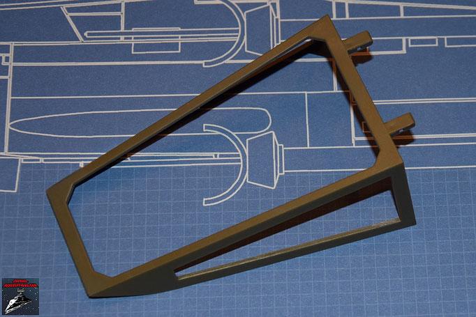 DeAgostini Bau deinen X-Wing Ausgabe 1 Cockpithaube vorne (Kunststoff)