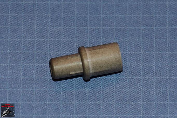 DeAgostini Bau deinen X-Wing Ausgabe 1 Verbindungsstück Kanonenrohr (Kunststoff)